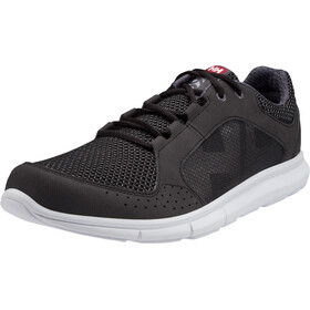 Helly Hansen Ahiga V3 Hydropower Shoes Herrer, jet black/white/silver grey/excalibur